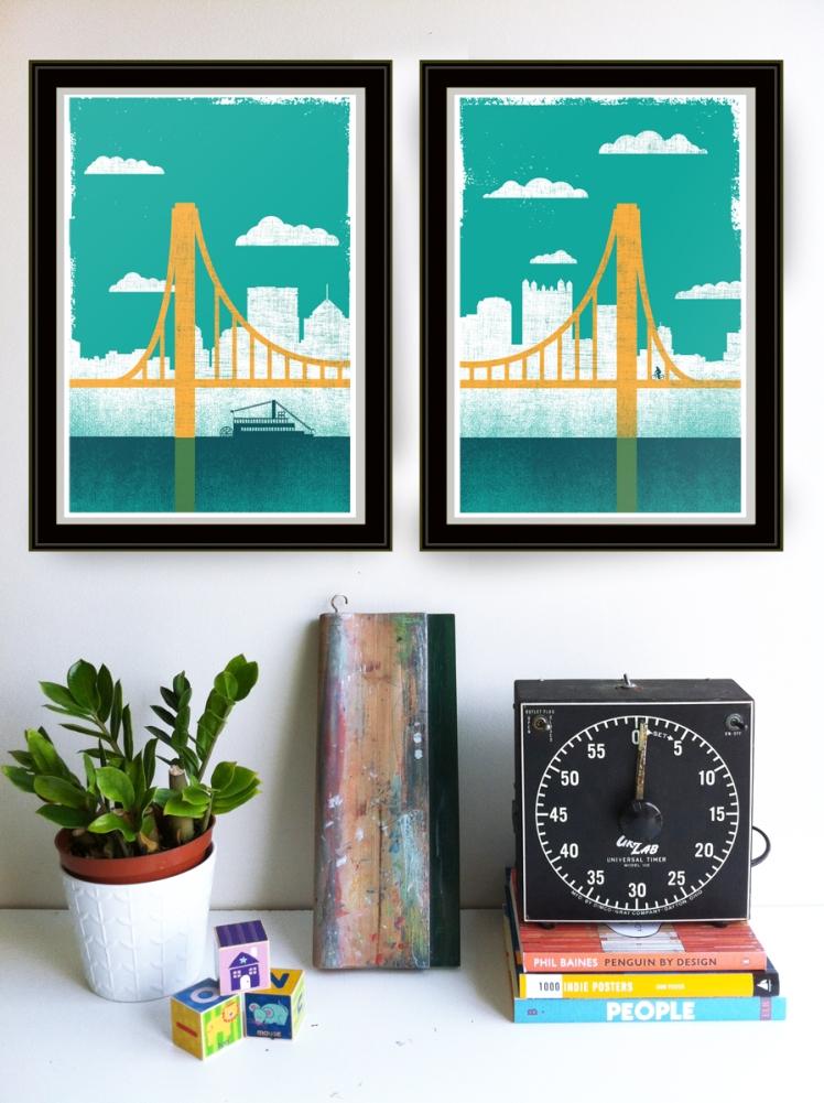 City Of Bridges by strawberryluna